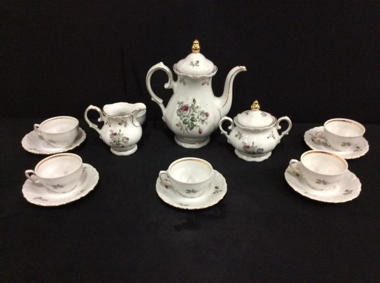 Winterling Bavarian china tea set in good cond