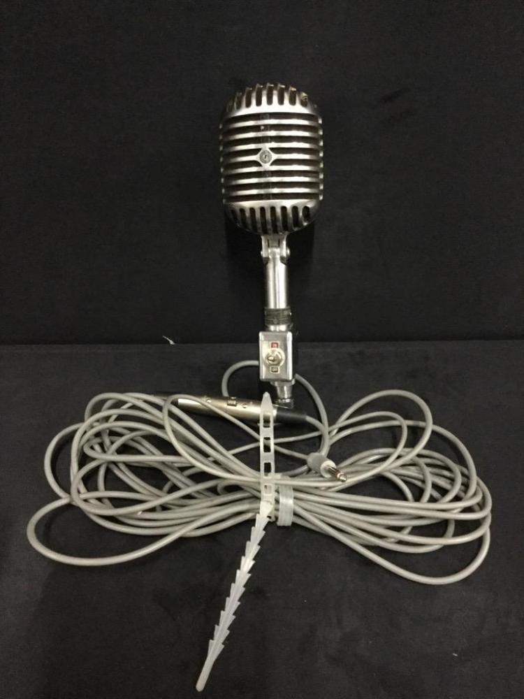 Vintage unidyne Uni Directional Microphone in good cond