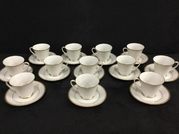 Contemporary Fine China by Nortiake teacup set
