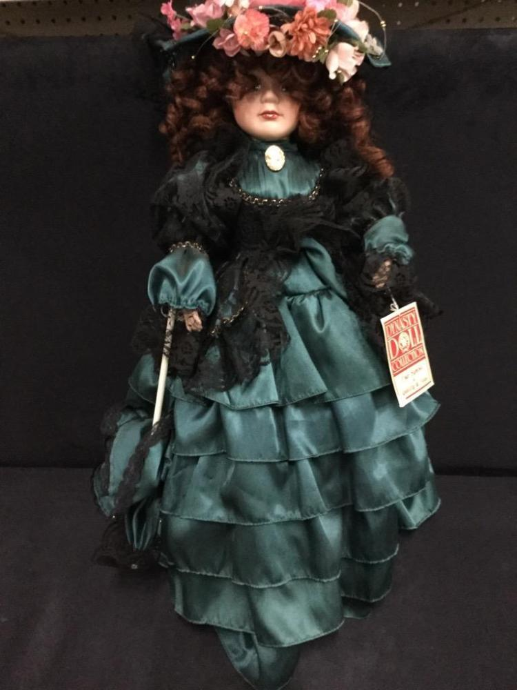 Dynasty Doll Collection Victorian Doll with tag - 24