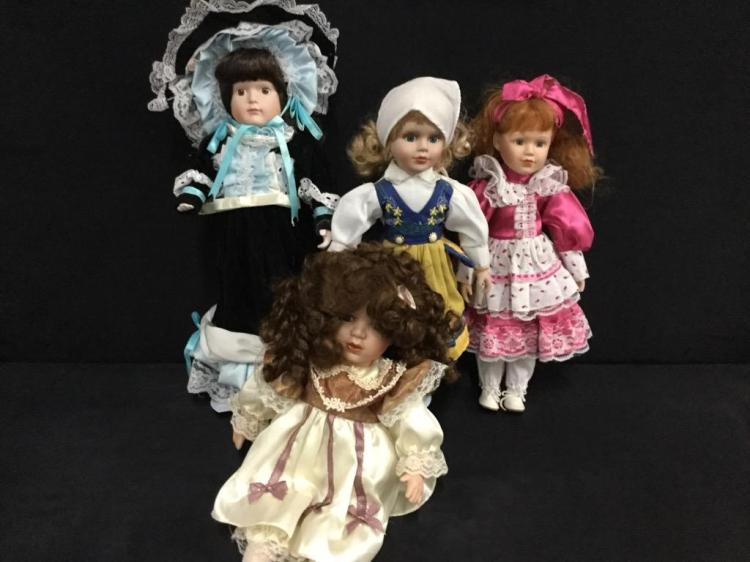 Selection of nice dolls - 4 @ 16
