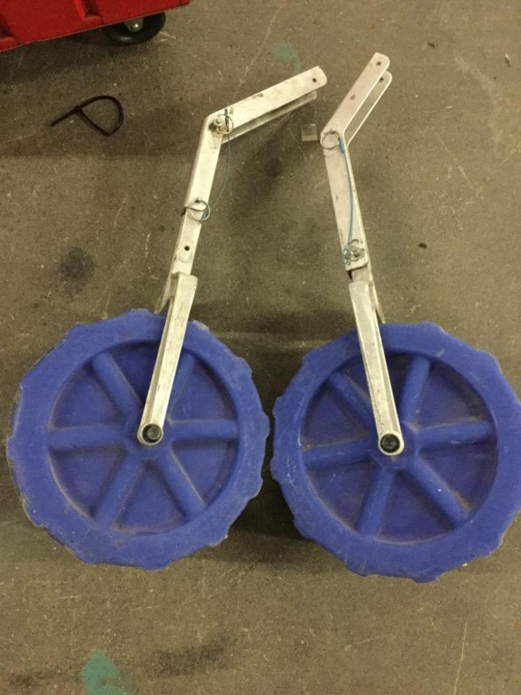 Pair of Boat Wheels