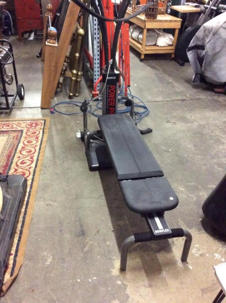 A Bowflex power pro training system in good condition
