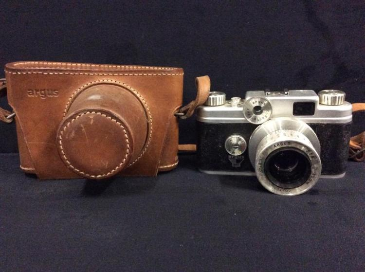 Argus C-Foury Four rangefinder w/ 50mm lens