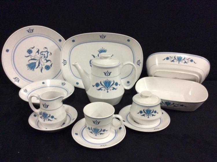 Noritake Progressions Tea Set with serving pieces