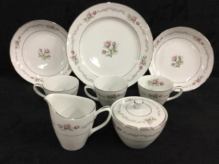 Mikasa Fien China Set - 58 pieces total