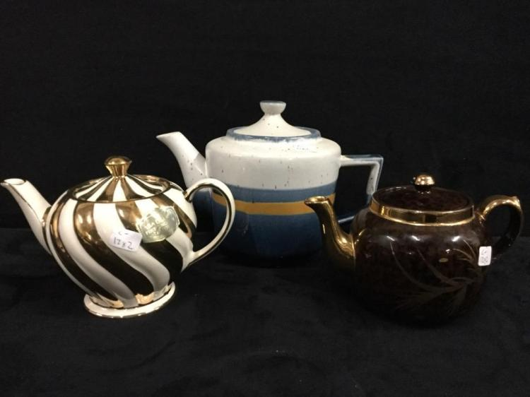 Selection of nice Teapots - Sadler, Gibson, etc