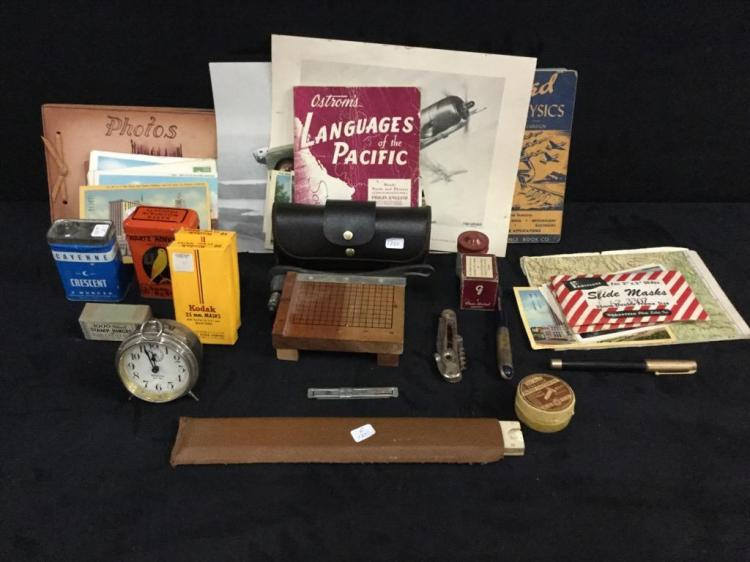Large Collection of vintage ephemera, misc, advertising, etc