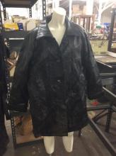 Maxam Genuine Lambskin Leather size Large Biker's Jacket in Great condition
