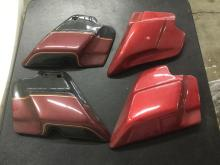 4 Tomahawk motorcycle side covers, new