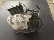 Honda 250 motorcycle engine, as-is, turns over, see pics