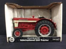 International Harvester 660 tractor by Ertl, 1:16 scale.