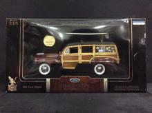 Road Legends 1948 Ford woody wagon, NIB 1:18 scale.