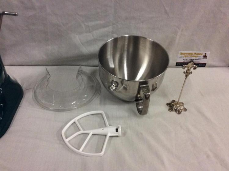 Kitchen Aid Epicurean High End Mixer With Bowl, Paddle And G