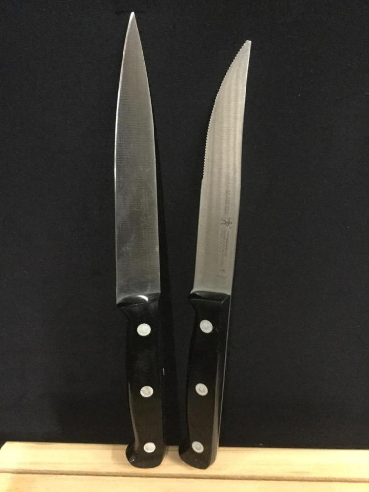 high end kitchen knife set by zwilling j a henckels w woo