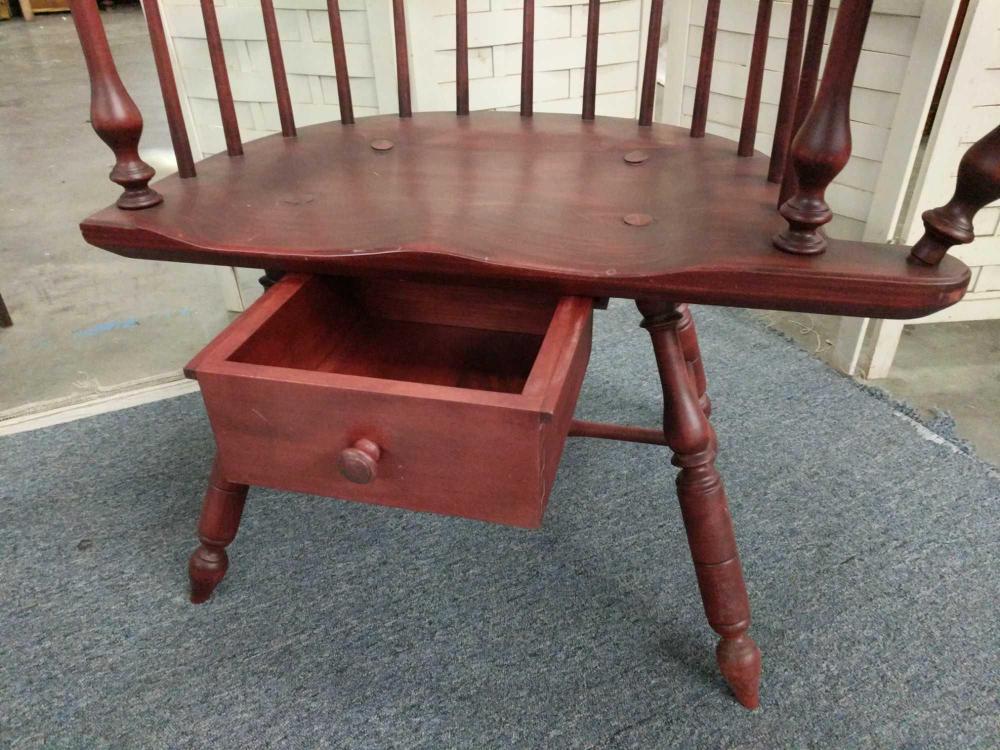 Amazing Antique Windsor Back Childs Wood Desk Chair Uwap Interior Chair Design Uwaporg
