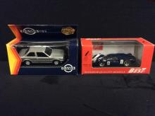 Gama Mini Models BMW 323i and a Model Best 1967 Lola T-70 Coupe