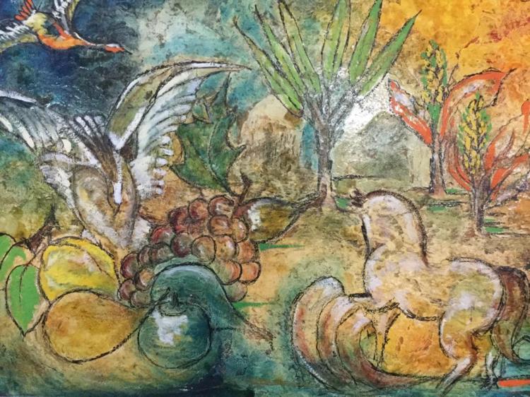 June Bellamy Oil Painting