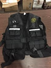 Gold gym weight vest with weights