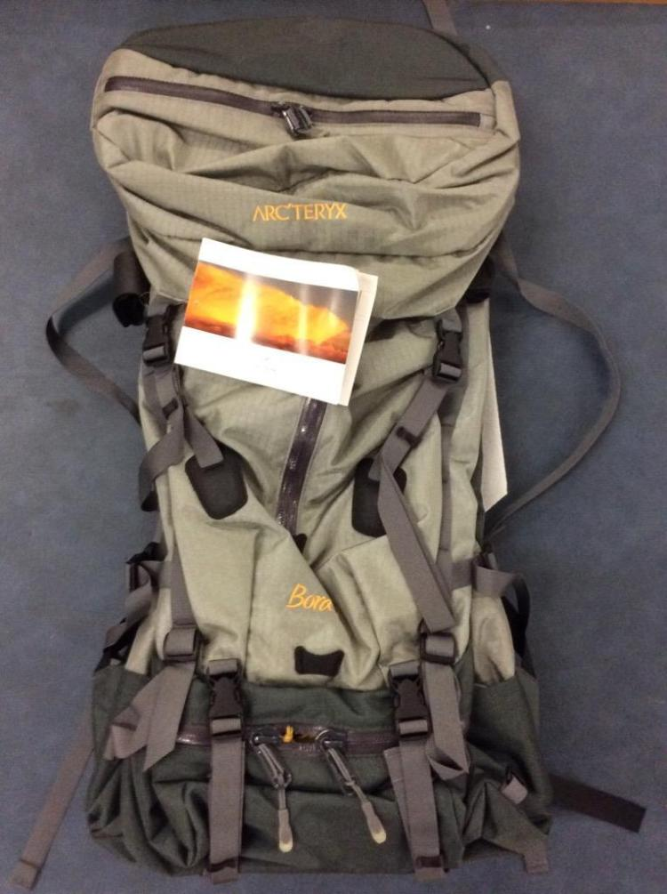 977a17ef653 Lot 52: A Bora 65 backpack by Arcteryx, brand new with tags