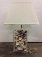 modern seashell living room lamp