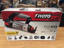 A Rotozip model RZ20 spiral cutting saw system, brand new in box!