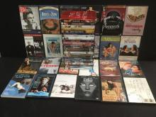 collection of 50 DVD's, all different genres, all good playable condition