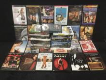 collection of 50 DVD's all different genres, all good playable condition