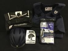 Tipperay Equestrian Jacket, Helmet and SMBII sports medicine boots