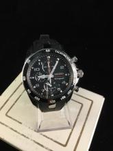 Seiko Sporturo chronograph watch, needs battery