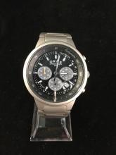 a Orvis tachymeter wrist watch in good condition, needs battery