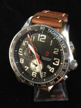 a Victorinox Swiss army wrist watch, like new, needs battery