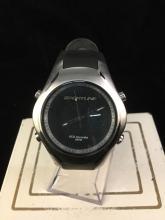 a like new Sportline 3ATM wrist watch, ECG accurate