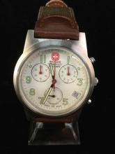a brand new Wenger Swiss Military chronograph wrist watch, needs battery