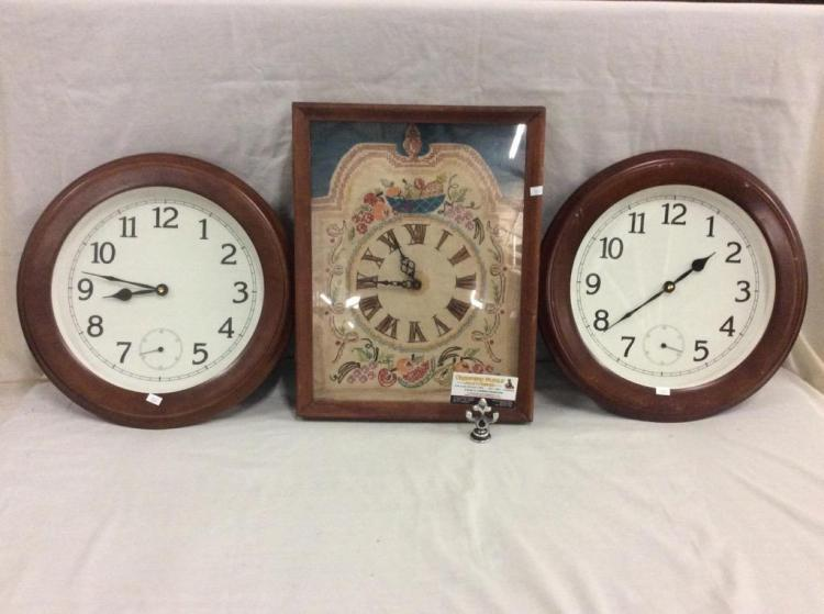 Very Cool Electric Kit Clock 2 Matching Wall Clocks See Pi