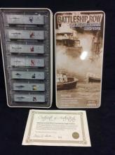 N Scale BAttleship Row Pearl Harbor Commem. Freight Car Set - 7 cars NIP