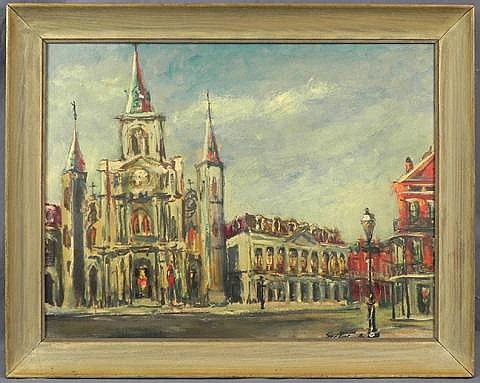 Jack Cooley (1923-2008, New Orleans),