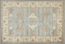 Turkish Angora Oushak Carpet, 10' 3