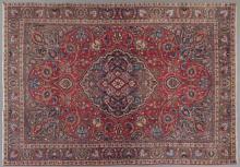 Mashad Carpet, 7' 7 x 10' 7