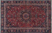 Mashad Carpet, 6' x 9' 3