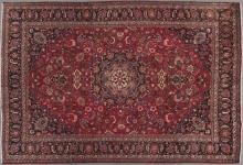 Mashad Carpet, 7' 8 x 10' 7