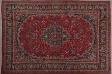 Mashad Carpet, 7' 8 x 11'