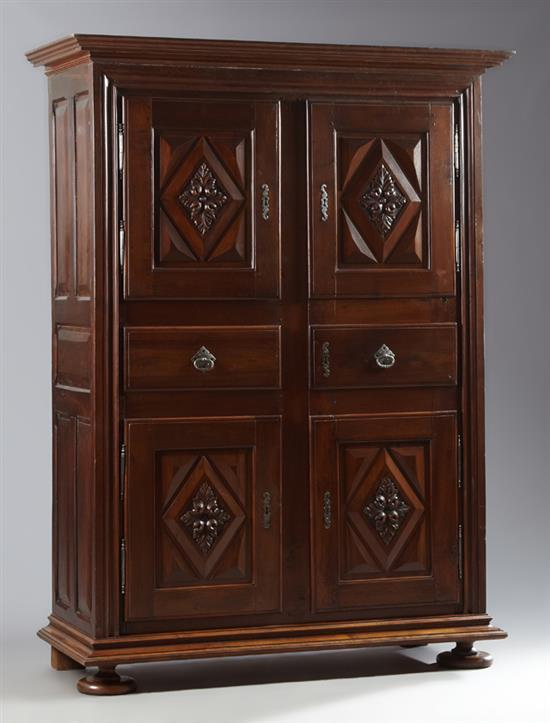 unusual french louis xiii style carved walnut homme debout a. Black Bedroom Furniture Sets. Home Design Ideas