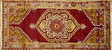Oushak Carpet, 2' 7 x 5' 3.