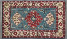 Uzbek Kazak Carpet 3' 4 x 5' 1.