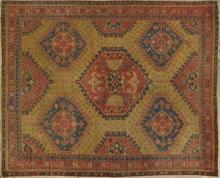 Turkish Oushak Carpet, 13' x 16' 2. Provenance: Talebloo Oriental Rugs, New Orleans.