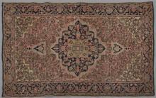 Antique Ferraghan Sarouk Carpet, 3' 4 x 4' 10