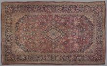 Kashan Carpet, 4' x 6' 7.