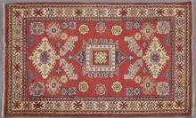 Uzbek Kazak Carpet, 3' 4 x 5'.