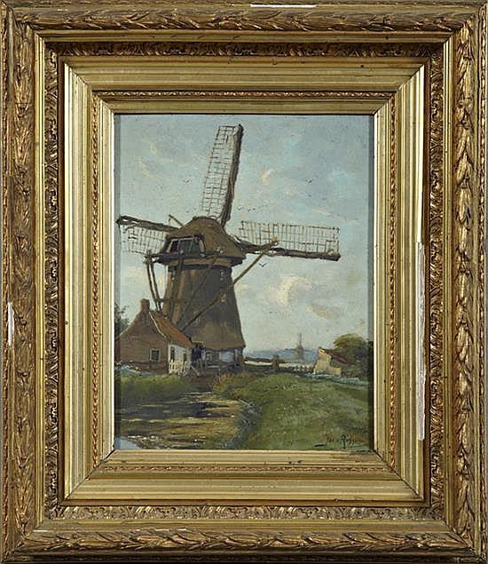 †Jacob Van Rossom (1881-1963),